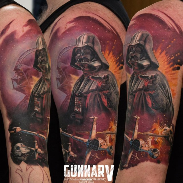 Tatuagem do Darth Vader
