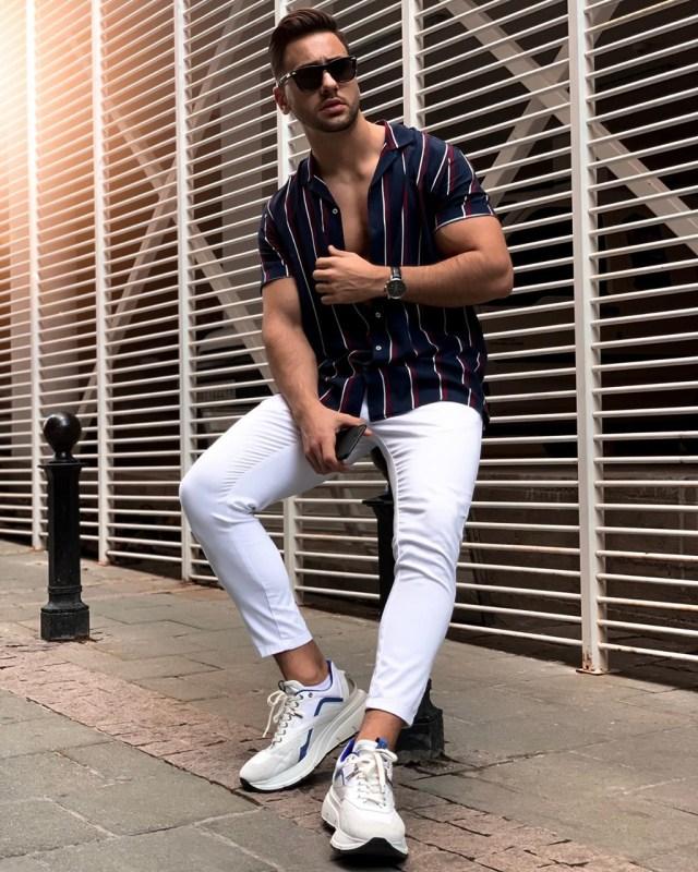 Look masculino de primavera verão 2019 2020