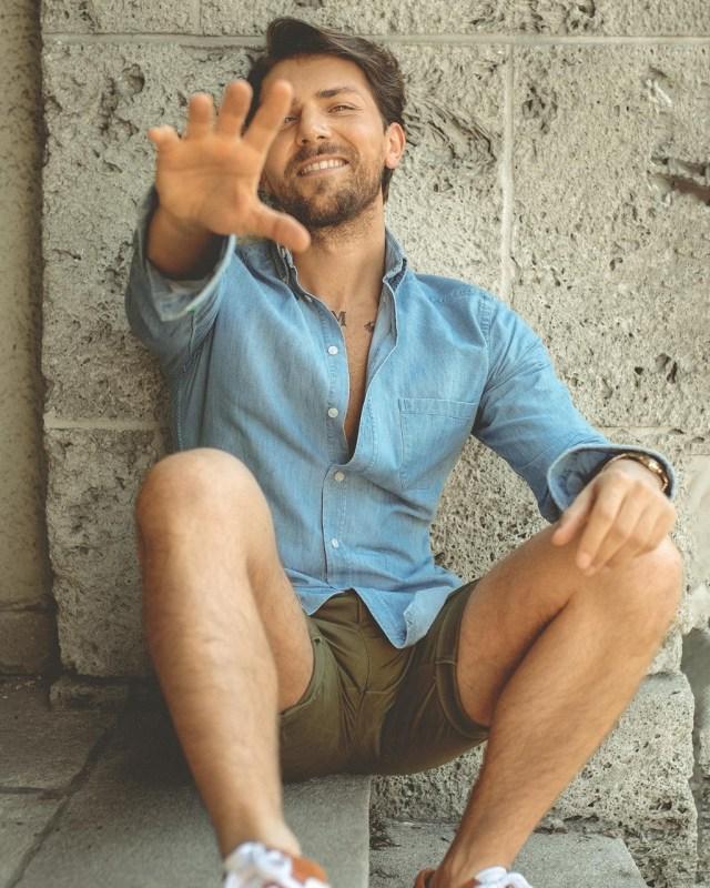 Moda para homens: camisa jeans