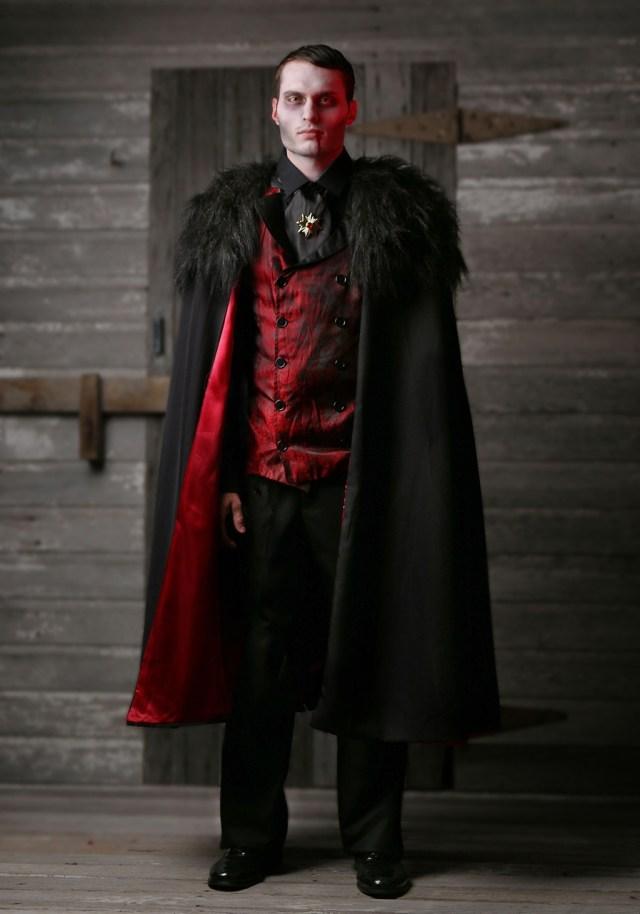 Halloween: fantasia de vampiro para homens