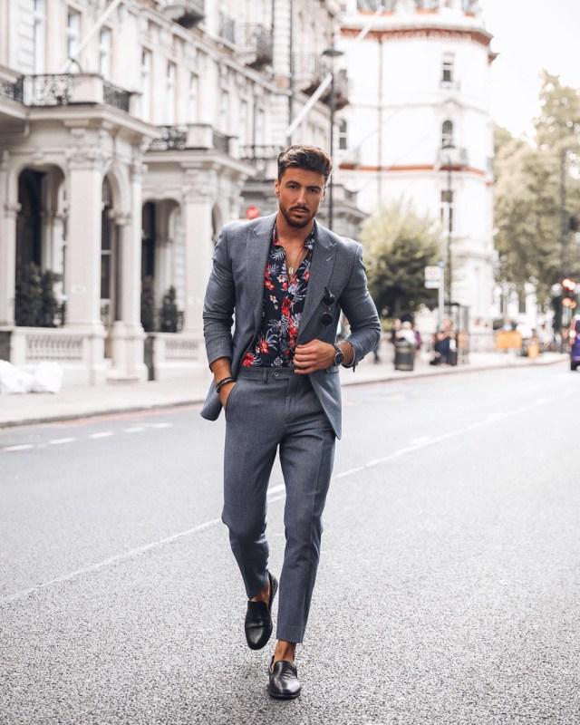 Dica de moda masculina: camisa floral
