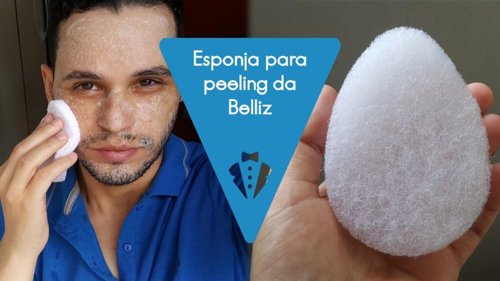 Esponja para peeling Belliz