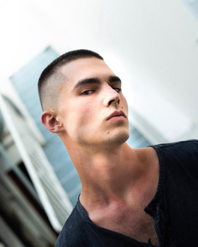 Crew Cut: hairstyle for men