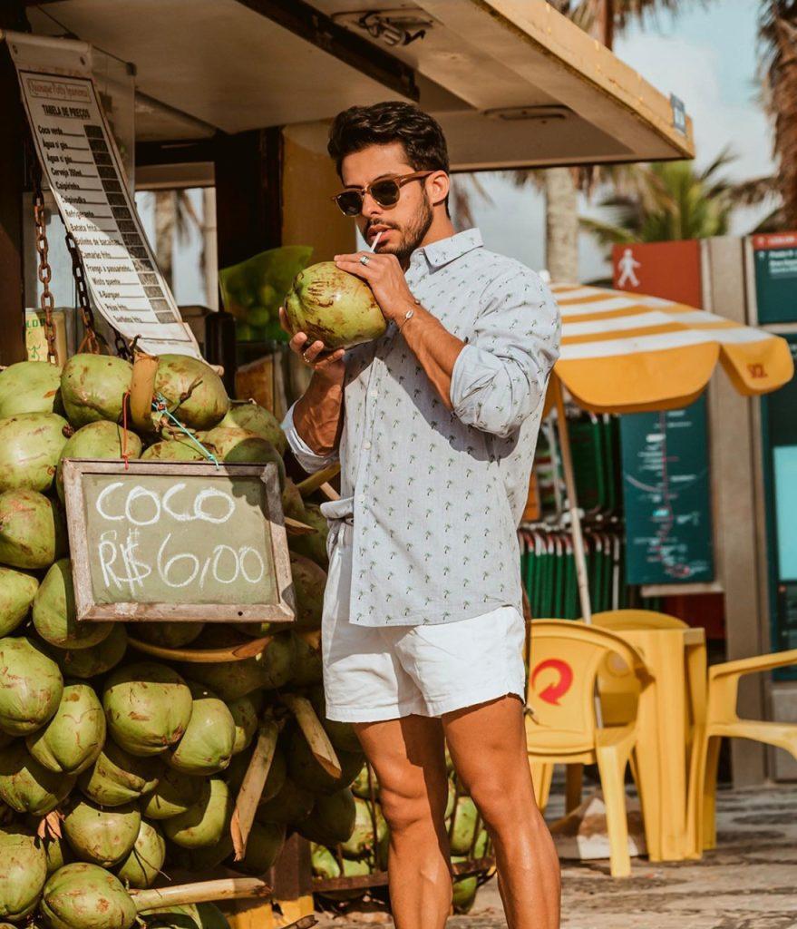 Moda para homens: outfit de verão
