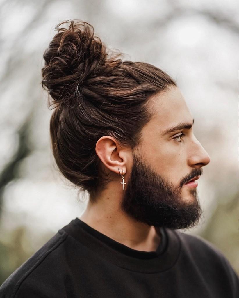 Cortes masculinos 2020 para cabelos compridos