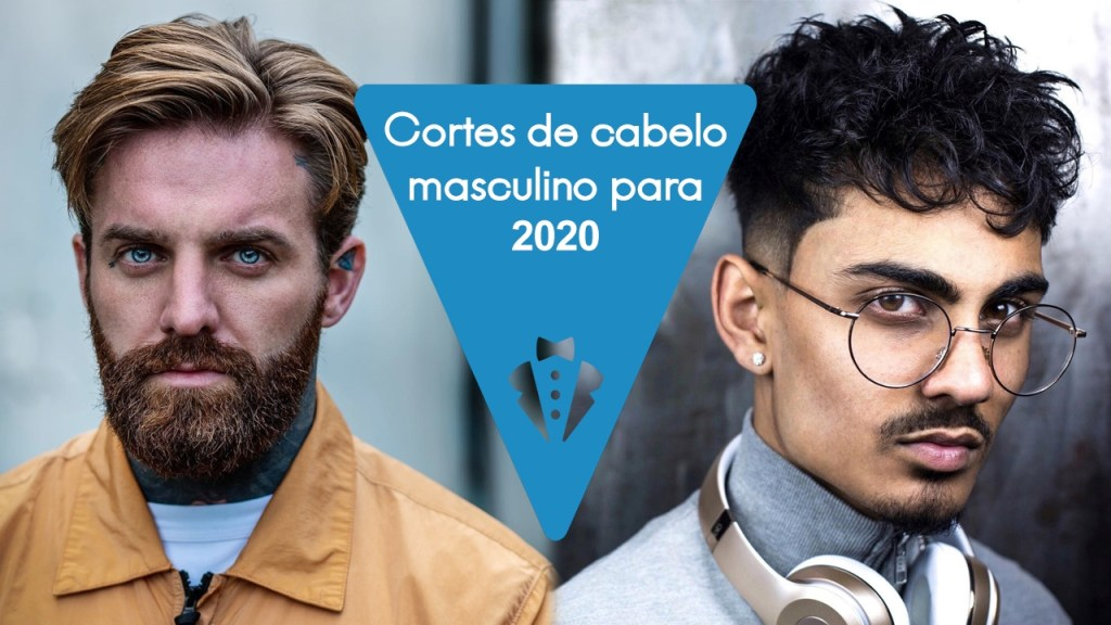 Cortes masculinos 2020