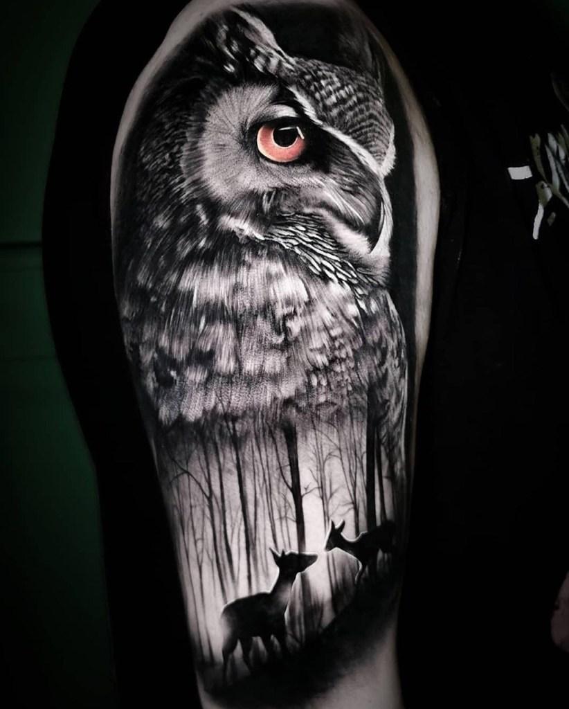 Tatuagem de homem