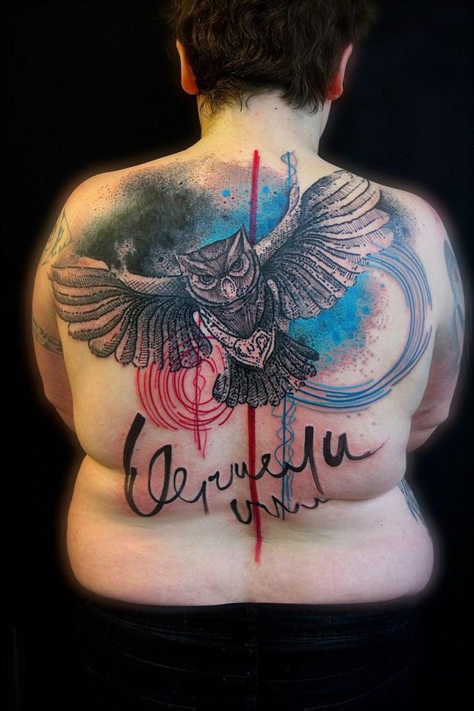 Estilo masculino: tattoo nas costas