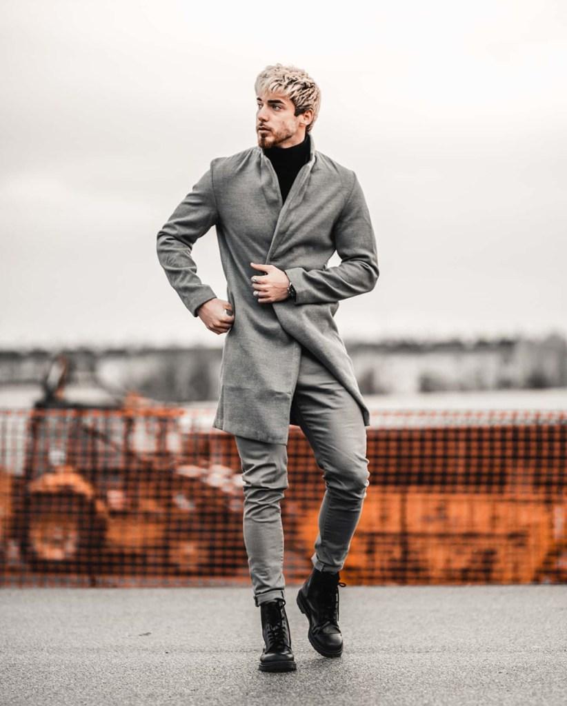 Looks masculinos em cinza: dica de moda