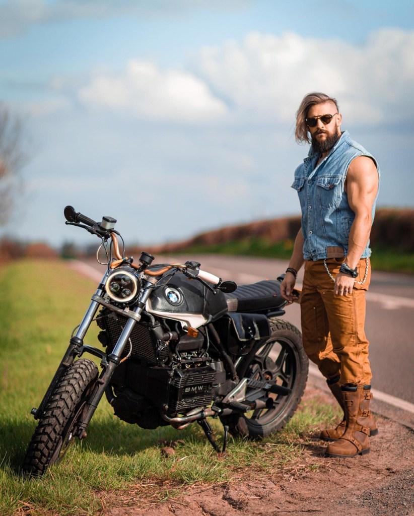 Dica de moda para homens: estilo motociclista