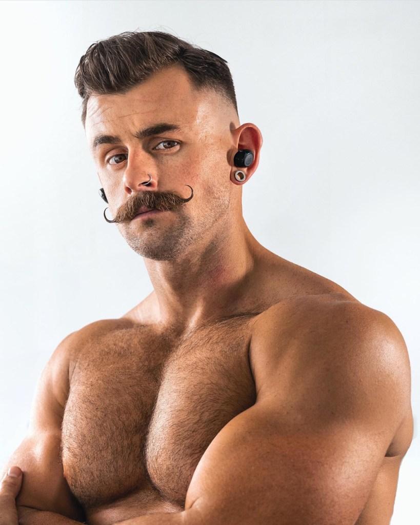 Barbas e bigodes para 2021: handlebar