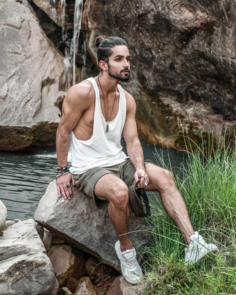 Moda para homens: look com regata