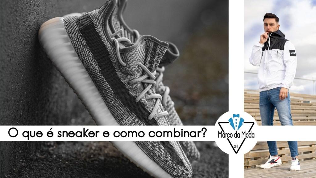 O que é sneaker - moda masculina