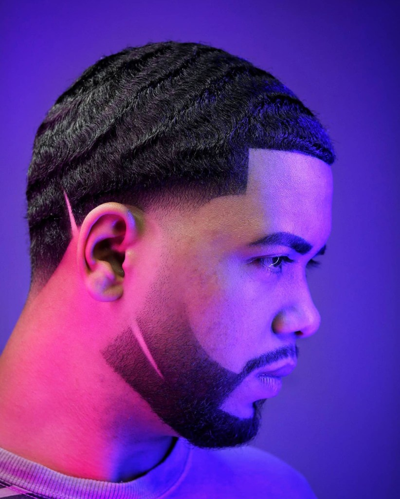 360 Waves - Afro hairstyle