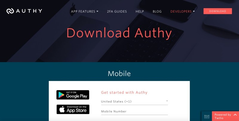 authy 2fa authenticator