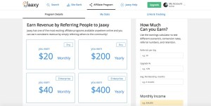 jaaxy affiliate