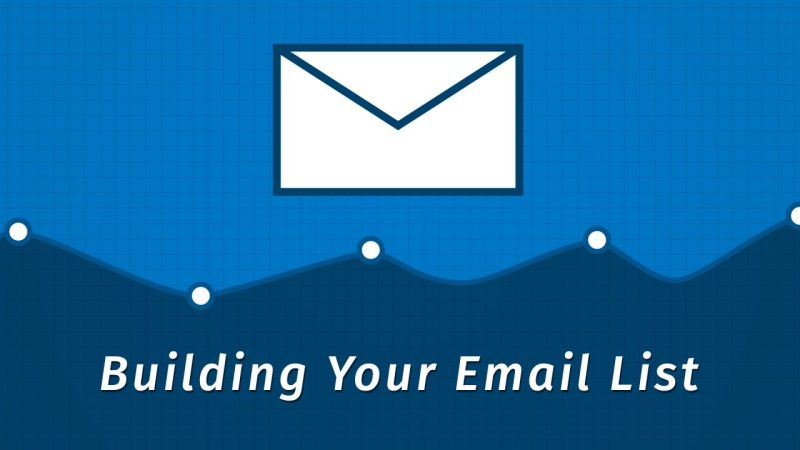 building your email list