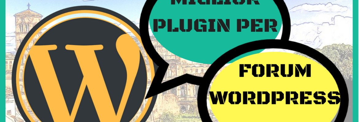 plugin per forum wordpress