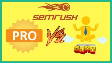 semrush pro vs guru