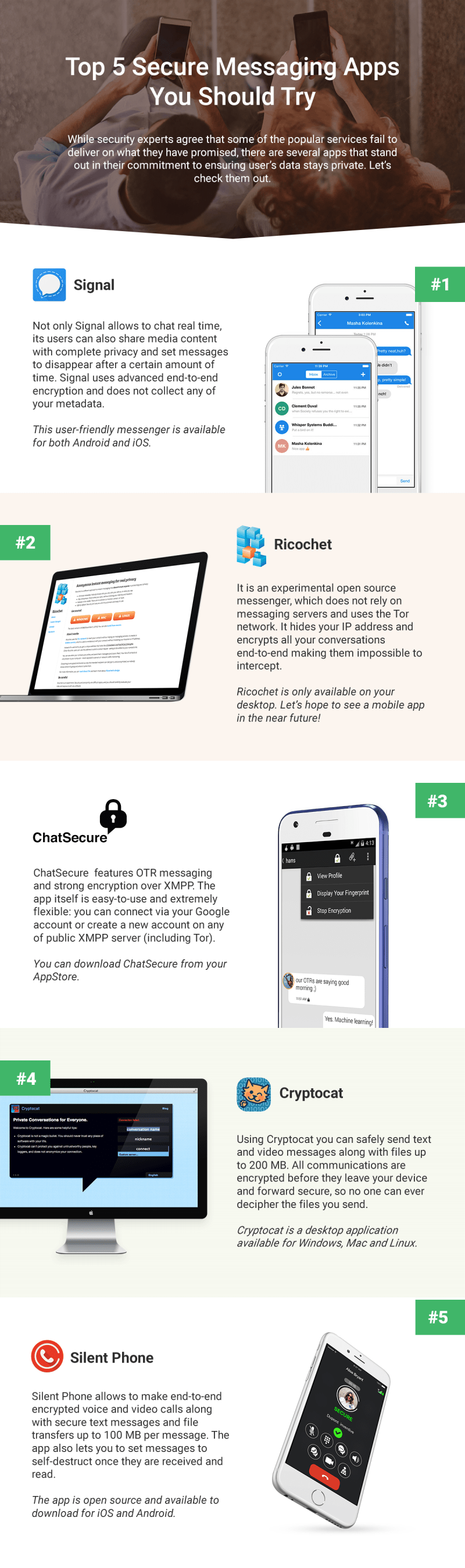 top-5-secure-messaging-apps