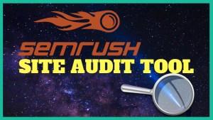 semrush site audit 2