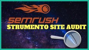 strumento di verifica del sito semrush 1