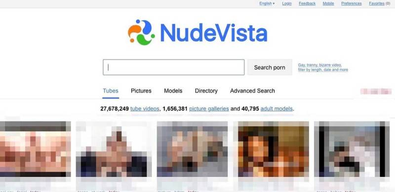 NudeVista is another cool adult search engine where many videos, pictures  forums, and hot stuff can be found using it.