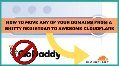 how to move to cloudflare registrar