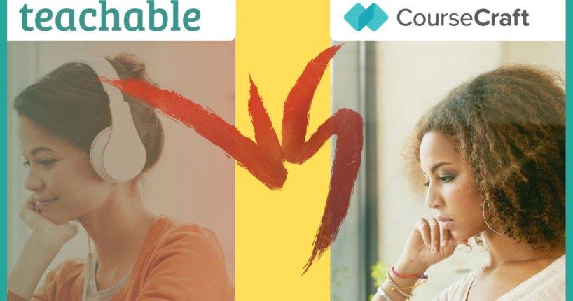 teachable vs coursecraft