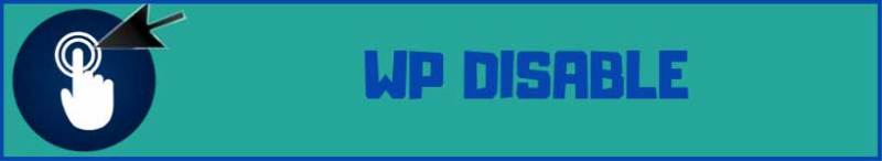wp disable