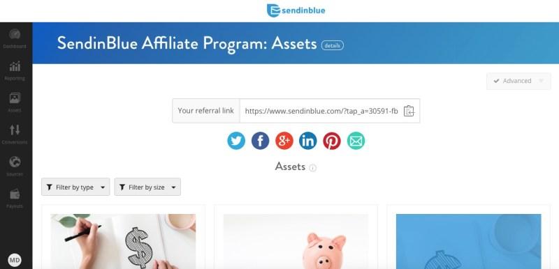 sendinblue affiliate