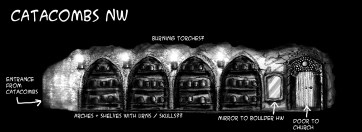 Catacombs Context Sketch - Marc