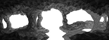 'Hell Cave' Level Environment Mock 2