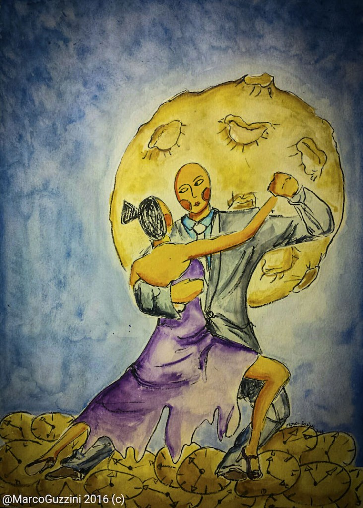 illustrazione da passeggio balliamoci - Lezioni di Musica