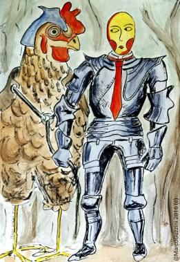 illustrazione da passeggio Marco Guzzini eroi