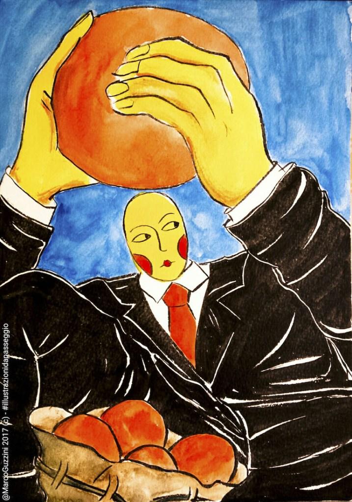 illustrazione da passeggio lanciare una palla breve illustrazione narrata