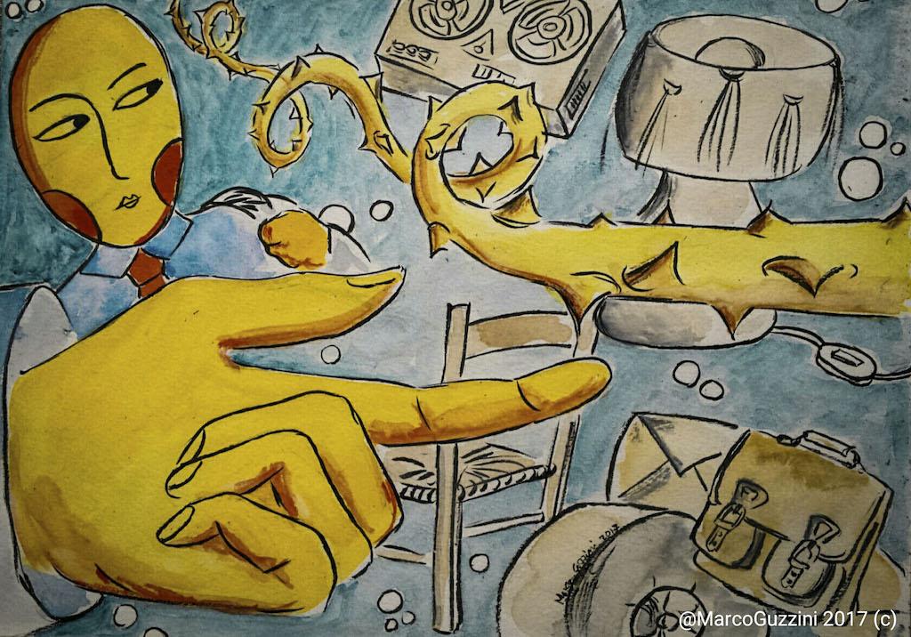 Punte di ricordi, Breve illustrazione Narrata