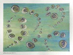 Pittura, Quadro Marco Guzzini movimento Due