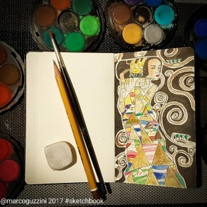 sketchbook - Klimt-albero-della-vita