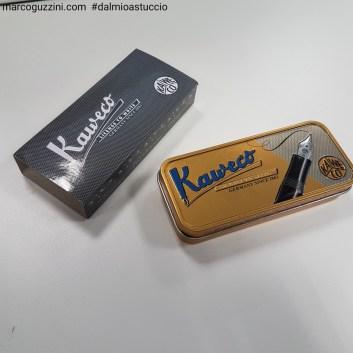 scatola chiusa kaweco sport stilografica la scatola metallica vintage