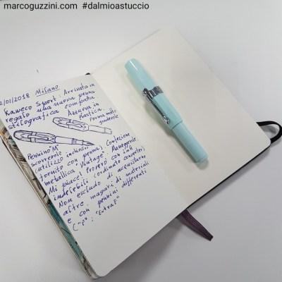 penna stilografica Kaweco sport chiusa