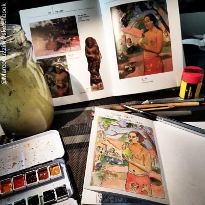 sketchbook Gouguin