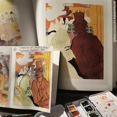 sketchbook Toulouse Lautrec