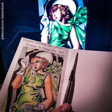sketchbook lempicka