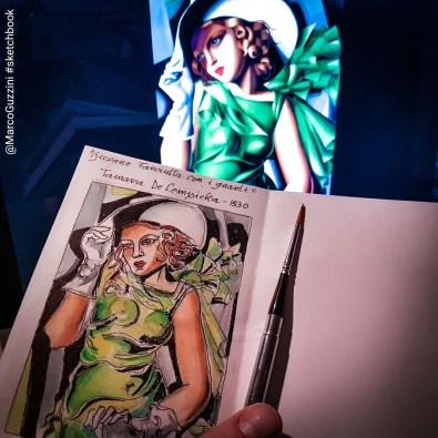 sketchbook lempicka