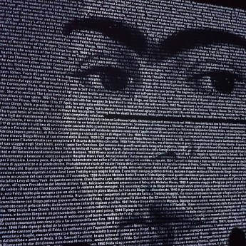 la mostra di frida Kahlo a Milano - il volto di Frida Kahlo