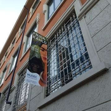 la mostra di frida Kahlo a Milano - il volto di Frida Kahlo , oltre il mito