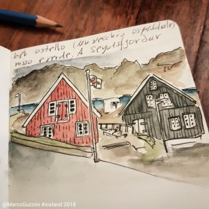 Appunti islandesi sketchbook