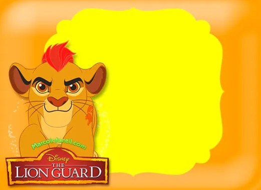 Marcos de la guardia del leon