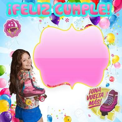 Imágenes de Soy Luna para cumpleaños - Feliz Cumpleaños Soy Luna - Marcos de Soy Luna Con frase Feliz cumple